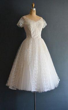Jacqui 50s Wedding Vintage Wedding Dress