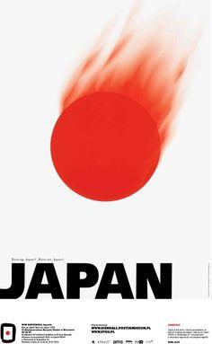 Shin Matsunaga, Japan - Burn up, Japan? Burn out, Japan?, 2001 #50designers50posters50mbp #STGU #AMS #ASP