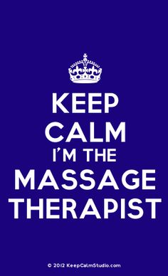 Keep Calm I'm The Massage Therapist!  Come to Fulcher's Therapeutic Massage in Imlay City, MI and Lapeer, MI for all of your massage needs!  Call (810) 724-0996 or (810) 664-8852 respectively for more information or visit our website lapeermassage.com!