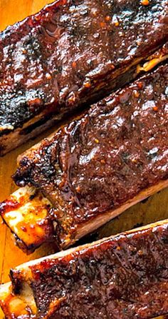 Slow-Cooker Memphis-Style Wet Ribs by America's Test Kitchen Crock Pot Slow Cooker, Crock Pot Cooking, Slow Cooker Recipes, Cooking Recipes, Slow Cooker Bbq Ribs, Cooking Tips, Rib Recipes, Veggie Recipes, Veggie Food