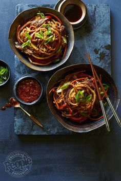Emeril Lagasse's Stir-Fried Beef Noodles