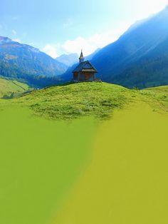 'Bregenzerwald   |   Kapelle Schalzbach' von Dirk h. Wendt bei artflakes.com als Poster oder Kunstdruck $6.75
