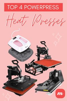 PowerPress is a company that makes high quality heat presses. Check out their 4 best models in this article. Vinyl Craft Projects, Vinyl Crafts, Starting A Tshirt Business, Best Heat Press Machine, Sports Today, Steel Frame Construction, Sewing Machine Reviews, Best Insulation, Best Commercials