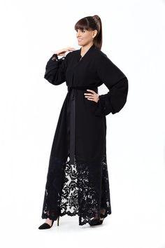 The Lace Kimono Abaya