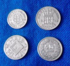 4 x Silbermünzensparen25.com , sparen25.de , sparen25.info