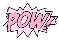 POW! This reminds me of my friend, Loa Lee