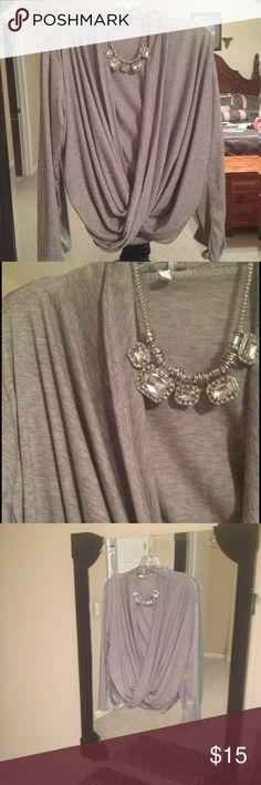 NWOT Gray cardigan Gray cardigan NWOT size medium it's adorable Sweaters Cardigans