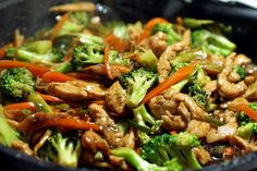 Kuracie Teriyaki s brokolicou Czech Recipes, Russian Recipes, Ethnic Recipes, Snack Recipes, Cooking Recipes, Healthy Recipes, Snacks, Good Food, Yummy Food