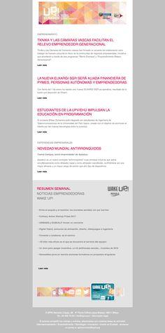 Noticias de Emprendimiento/ UP Euskadi (2 al 8 de enero 2017) 10/01/2016