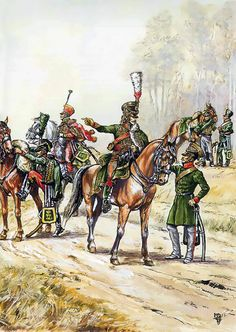 """""""The Baden Hussars, Studianka"""", Patrice Courcelle"""
