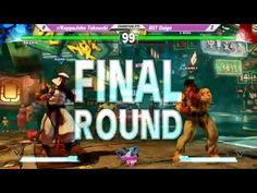 Canada Cup 2016 SFV Exhibition Daigo Umehara Vs John Takeuchi FT5