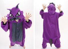 Purple Wolf Animal Onesies