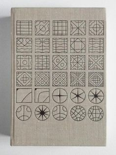 sketch book or journal cover - could evolve the first square to a final circle...
