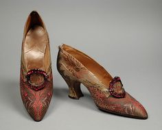 Pair of Woman's Pumps. France, circa 1920. Pietro Yantorny | LACMA Collections