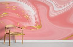 Pink Abstract - Medium