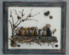 Family arte de piedra / Rock arte familia de por CrawfordBunch