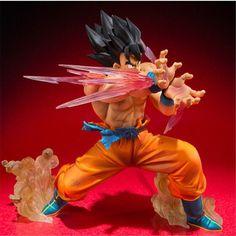 Dragon Ball Z Goku Kaioken Figure Toy Dragon Ball Z, Dbz, Gamers Anime, Anime Merchandise, Anime Costumes, Son Goku, Anime Figures, Action, Cool Toys