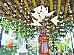 Lina Origami: Decoração de Casamento com Origami