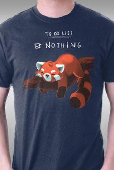 Red Panda Day @teefury