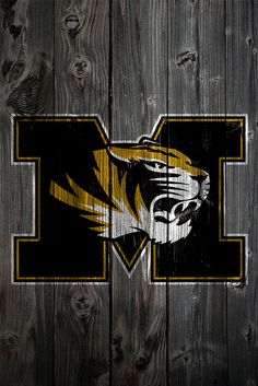 Missouri Tigers - love this barn wood sign! It's a wallpaper on my phone.