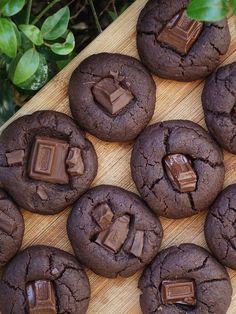 Fudge Brownie Cookies — THE COCONUT GODDESS