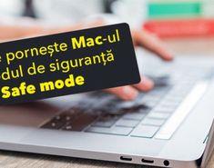 Cum se pornește / bootează Mac-ul în modul de siguranță (safe mode) Mac, Company Logo, Poppy