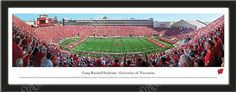 One large University of Wisconsin stadium panoramic, framed to 39 x 13.5 inches. $99.99         @ ArtandMore.com