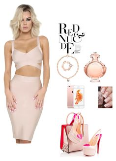 nude by blunted-diva on Polyvore featuring Christian Louboutin, MICHAEL Michael Kors and Paco Rabanne
