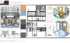 interior design portfolio | residential design by Dallas Willman, via Behance