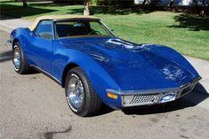 1968 CHEVROLET CORVETTE CONVERTIBLE 327 V8
