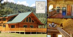 Splendid Log Chalet for $60,000 with Must See Interior and Plans