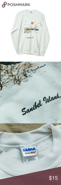 Vintage Sanibel Island FL Crewneck Sweatshirt Condition: 6/10 (Some very light discoloration on front of sweatshirt)   Ships same or next day via USPS Priority Mail from sunny Orlando, FL :)  Please Note these are ACTUAL PHOTOS of the product listed.   Your business is greatly appreciated!   Poshmark Ambassador | 4.8 Top Rated Seller | Top 10% Seller | Top 10% Sharer | Fast Shipper | Posh Mentor Vintage Tops Sweatshirts & Hoodies