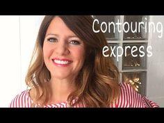 (344) Cómo me maquillo en el coche/Maquillaje express/Contouring - YouTube