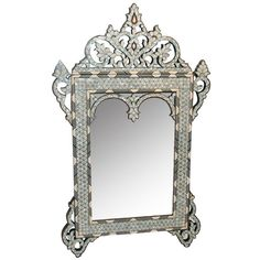 Pictures of Moroccan Mother of Pearl Mirror