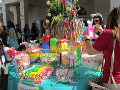fantastic Candy Table Decorations, Sweet 16, Lily Pulitzer, Party Ideas, Bar, Sweet Sixteen, Ideas Party