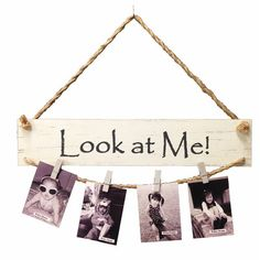 Take a look at this 'Look at Me' Wall Photo Clip Display today! Photo Display Board, Photo Displays, Picture Holders, Photo Holders, Hanging Pictures, Art Wall Kids, Wall Art, Diy Photo, Unique Photo