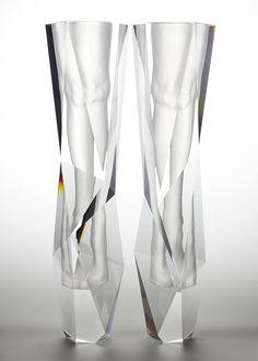 Frozen Boots, 2014 Acrylic Crystal