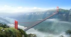 Top 10 Tallest Bridges In The World  Dont Look Down