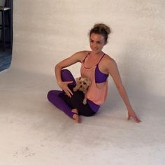 @angelasyoga posing for #BaliniSports new #GeminiCollection #newcollection #LoveWithin @2015collection #yogawear #bts