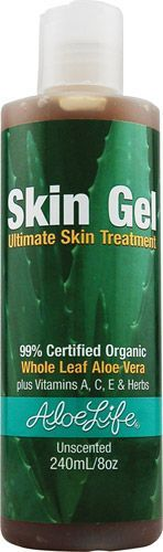 Aloe Life  Skin Gel Ultimate Skin Treatment Unscented -- 8 oz ** Details can be found by clicking on the image.