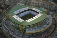 Estadio José Alvalade. Sporting Clube de Portugal. Portugal.