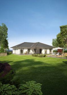 NIVO 140 W: moderne Häuser von FingerHaus GmbH
