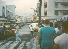 Magsaysay Street, Olongapo City, Philippines. (circa 1988 - 1989)This was the main street and it started at the entrance to the US Naval Base. To get to Olongapo from the base, you had to cross a bridge over Sh*t River.