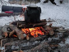 A fire and hot water for drinks and food are number 1 priorities.