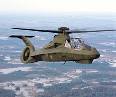 Boeing / Sikorsky RAH-66 Comanche Light Attack Helicopter ~ CANCELLED