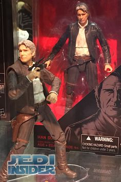 """2016 SDCC - Hasbro Updates Their Black Series 6"""" Force Awakens Han Solo Figure With Grey Hair #StarWars"""