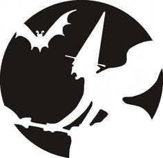 Estamos em outubro, e dia 31 está quase aí!!! Aproveite estes moldes limpos de chapéus, caveiras, abóboras, fantasmas, casas mal assombradas, bruxas, gatos e morcegos para fazer lindos enfeites para festinhas de Halloween! use todos os materiais que você tiver em casa, cartolinas, EVAs e muito mais! Use sua imaginação! Abra o molde clicando com ...