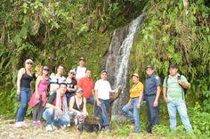 Caminantes disfrutaron del  paisaje natural que ofrece Las Marcadas como destino turístico.