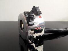 Lenker-ARMATUR-Switch-cluster-Interrupteur-Interruptor-YAMAHA-SR500-Stil-ALU