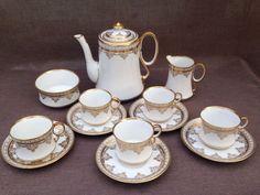 ROYAL ALBERT CROWN CHINA VINTAGE. COFFEE SET in Pottery, Porcelain & Glass, Porcelain/ China, Royal Albert, Tableware | eBay